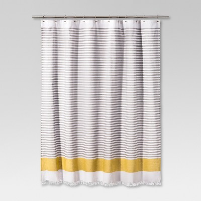 Dyed Shower Curtain Stripe Summer Wheat - Project 62™