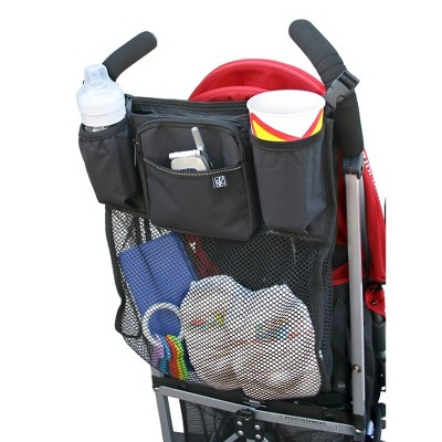 JL Childress Cups 'N Cargo Stroller Organizer - Black