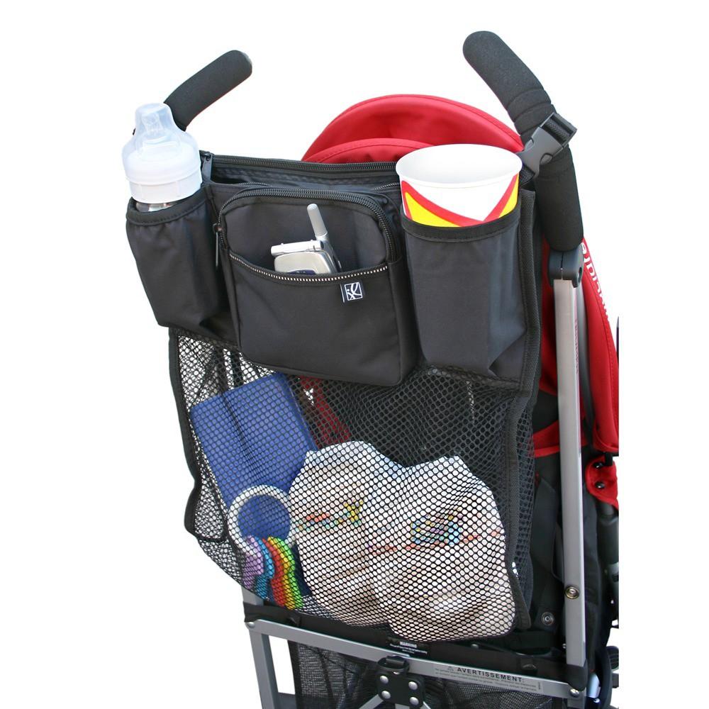 Image of JL Childress Cups 'N Cargo Stroller Organizer - Black