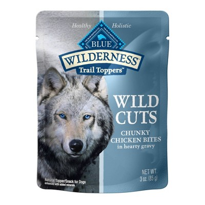 Blue Buffalo Wilderness Wild Cuts Wet Dog Food - 3oz