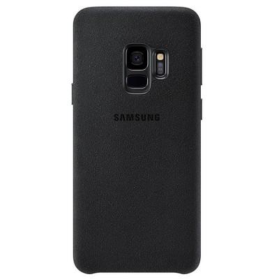 Samsung Galaxy S9 Case Alcantara - Black