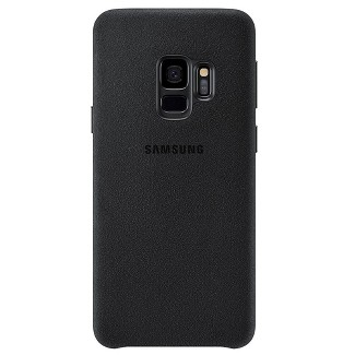 Samsung Galaxy S9 Case Alcantara - Black