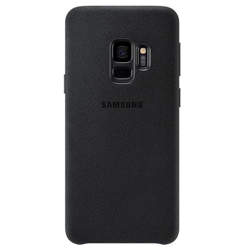 watch 8b312 35da9 Samsung Galaxy S9 Case Alcantara - Black