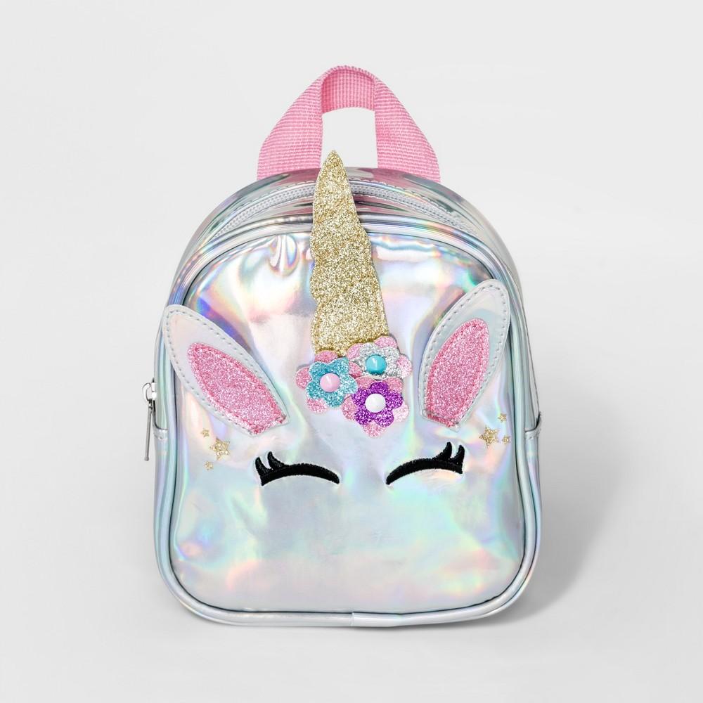 Girls' Unicorn Mini Backpack - Cat & Jack, Multi-Colored