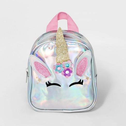 4b4fef91ccf Girls  Unicorn Mini Backpack - Cat   Jack™   Target