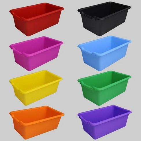 8ct Plastic Bins - Bullseye's Playground™ - image 1 of 4