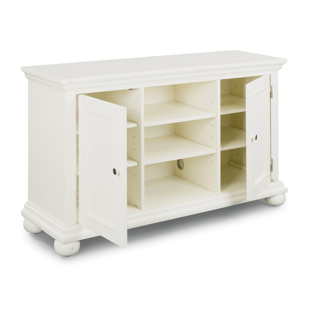 Dover 56 Entertainment Stand White - Home Styles