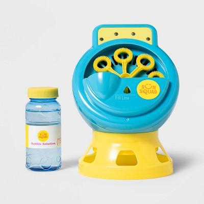 Light-Up Bubble Machine Blue/Yellow - Sun Squad™