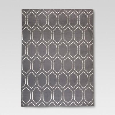 Gray Dot Tile Area Rug (5'X7')- Threshold™
