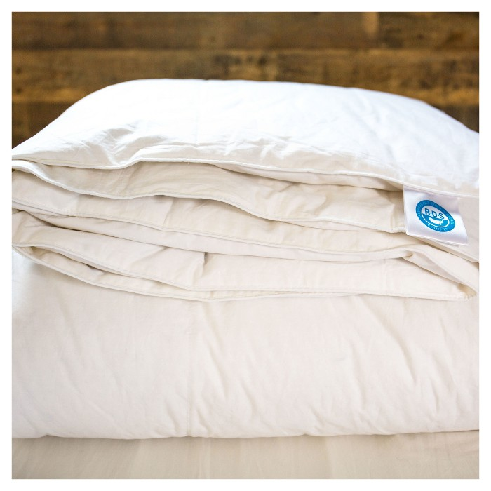Deluxe White Duck Down Comforter - 550 Fill Power - image 1 of 3