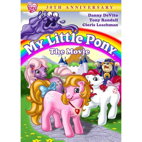 My Little Pony The Movie 30th Anniversary Edition Dvd Video