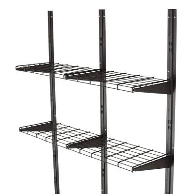 Shed Shelf System - Black - Suncast