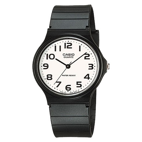 f7d2cdba8 Casio Men's Analog Watch - Black (MQ24-7B2) : Target
