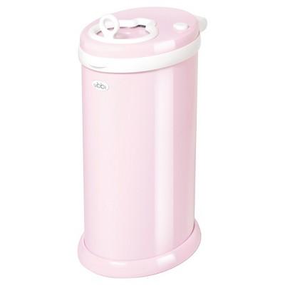 Ubbi Steel Diaper Pail - Light Pink