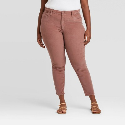 Women's Plus Size High-Rise Skinny Pants - Universal Thread™