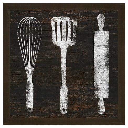 Kitchen Tools 18X18 Wall Art