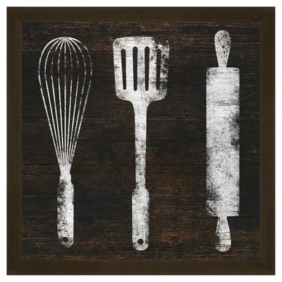 Attrayant Kitchen Tools 18X18 Wall Art