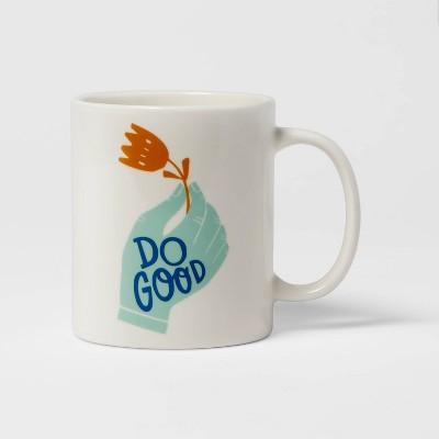 15oz Stoneware Do Good Mug - Room Essentials™