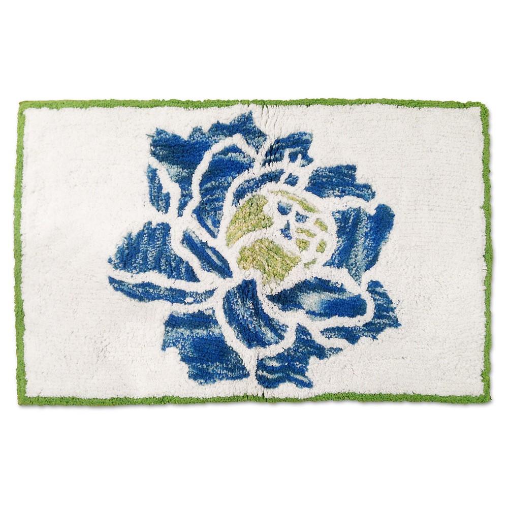 Refresh Stripe Tufted Rug Blue/Green (20