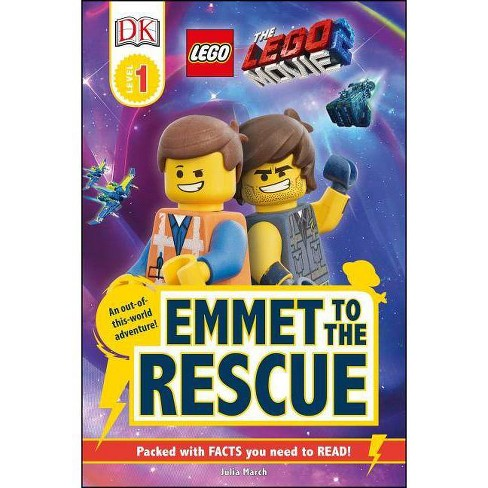 Emmet to the Rescue -  (DK Readers. Lego) by Julia March (Paperback) - image 1 of 1