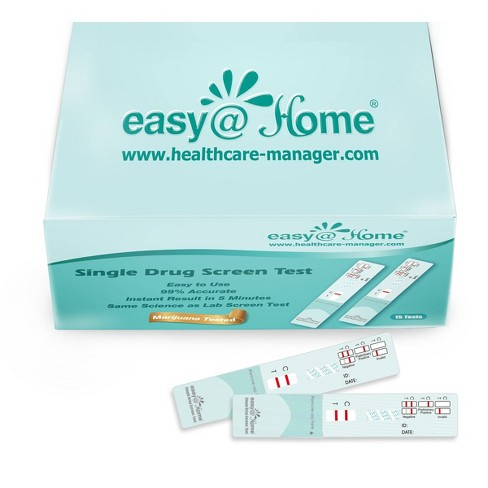 Easy Home Marijuana Single Panel Drug Test 15pk Target