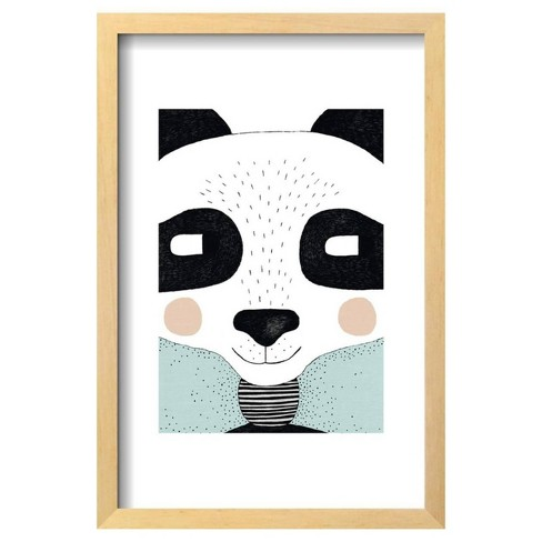 "Big Panda by Seventy Tree Framed Poster 13""x19"" - Art.Com - image 1 of 2"