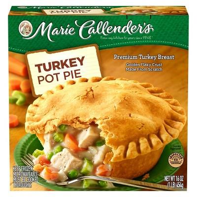 Marie Callender's Frozen Turkey Pot Pie - 16oz