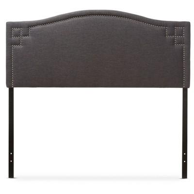 Aubrey Modern And Contemporary Fabric Upholstered Headboard - Baxton Studio