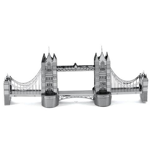 Fascinations Metal Earth London Tower Bridge 3D Metal Model Kit - image 1 of 3