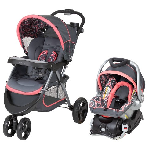 Baby Trend Nexton Travel System Coral Floral Target