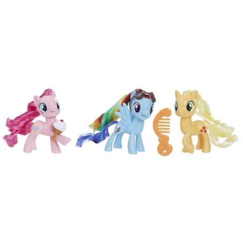 My Little Pony Equestria Friends Pinkie Pie, Rainbow Dash, and Applejack - image 1 of 4