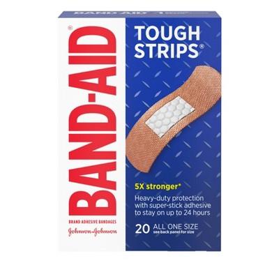 Band Aid Flexible Tough Strips - 20ct
