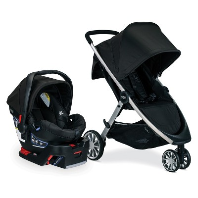 Britax B-Lively/B-Safe 35 Travel System - Raven