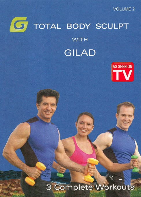 Gilad:Total body sculpt workout 2 (DVD) - image 1 of 1