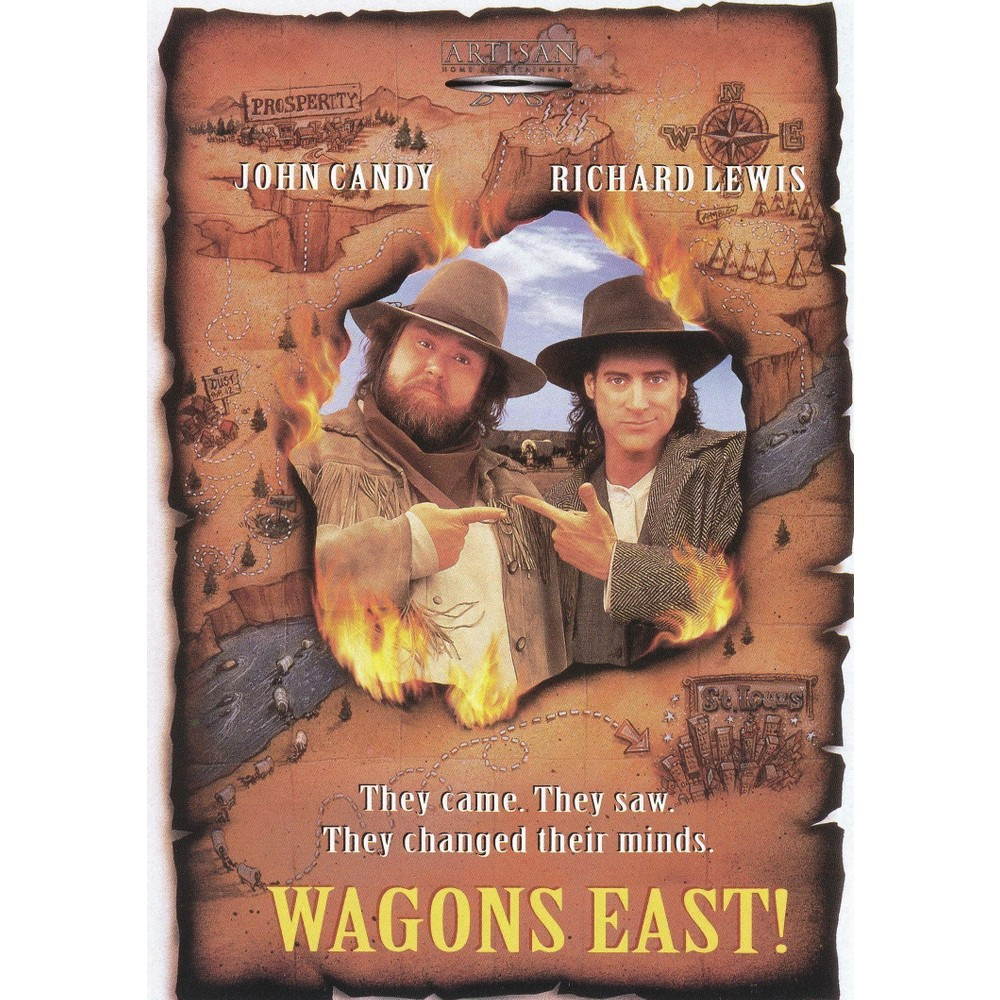 Wagons East! (Dvd), Movies
