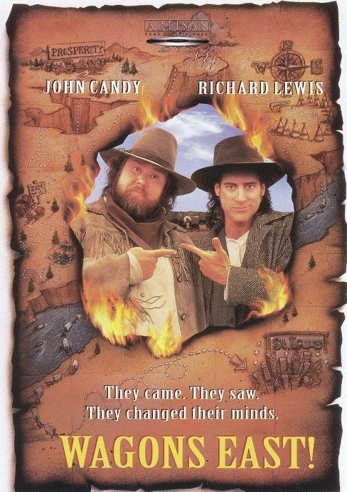 Wagons east! (DVD) - image 1 of 1