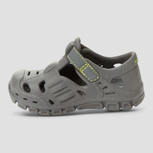 685b4c1aa Toddler Boys  Surprize By Stride Rite Rider Land   Water Shoes - Grey    Target