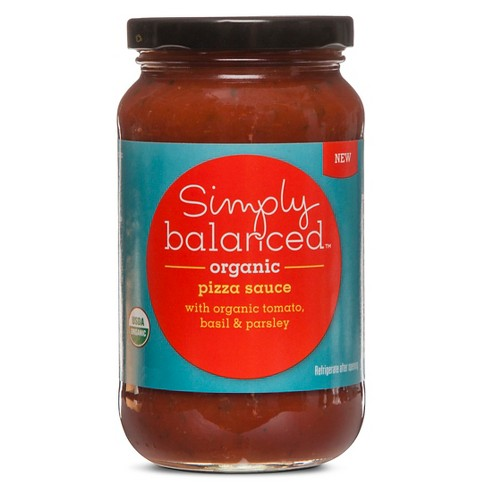 Organic Pizza Sauce With Organic Tomato, Basil and Parsley 14oz - Simply Balanced™ - image 1 of 1