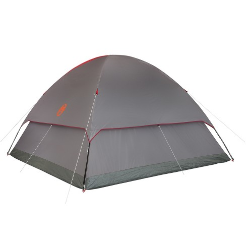 dd02ffa0a1d Coleman® Flatwoods II 6-Person Dome Tent - Gray Red   Target
