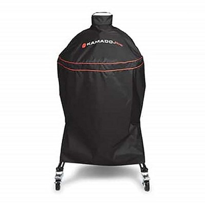 Kamado Joe Updated Heavy-Duty 18-Inch Functional Fitted Classic Protective Outside Grill Cover, Black