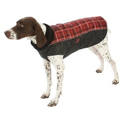 Ultra Paws Comfort Coat Red Plaid