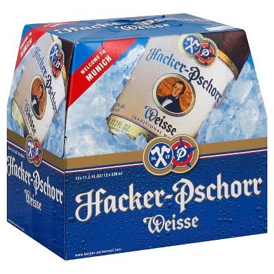 Hacker-Pschorr Beer - 12pk/11.2 fl oz Bottles