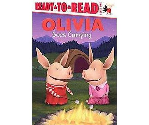 Olivia Goes Camping (Hardcover) - image 1 of 1