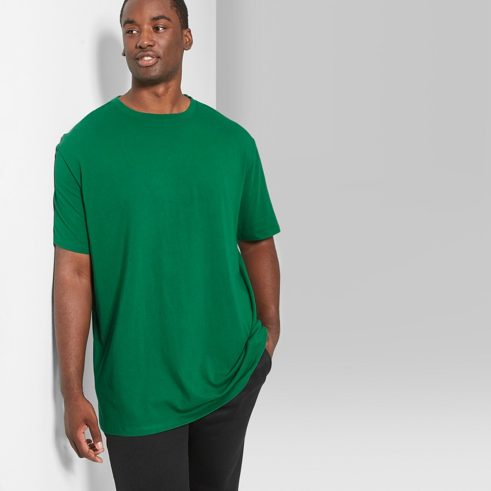 Men's Big & Tall Short Sleeve Boxy T-Shirt - Original Use Jade Winner 2XB