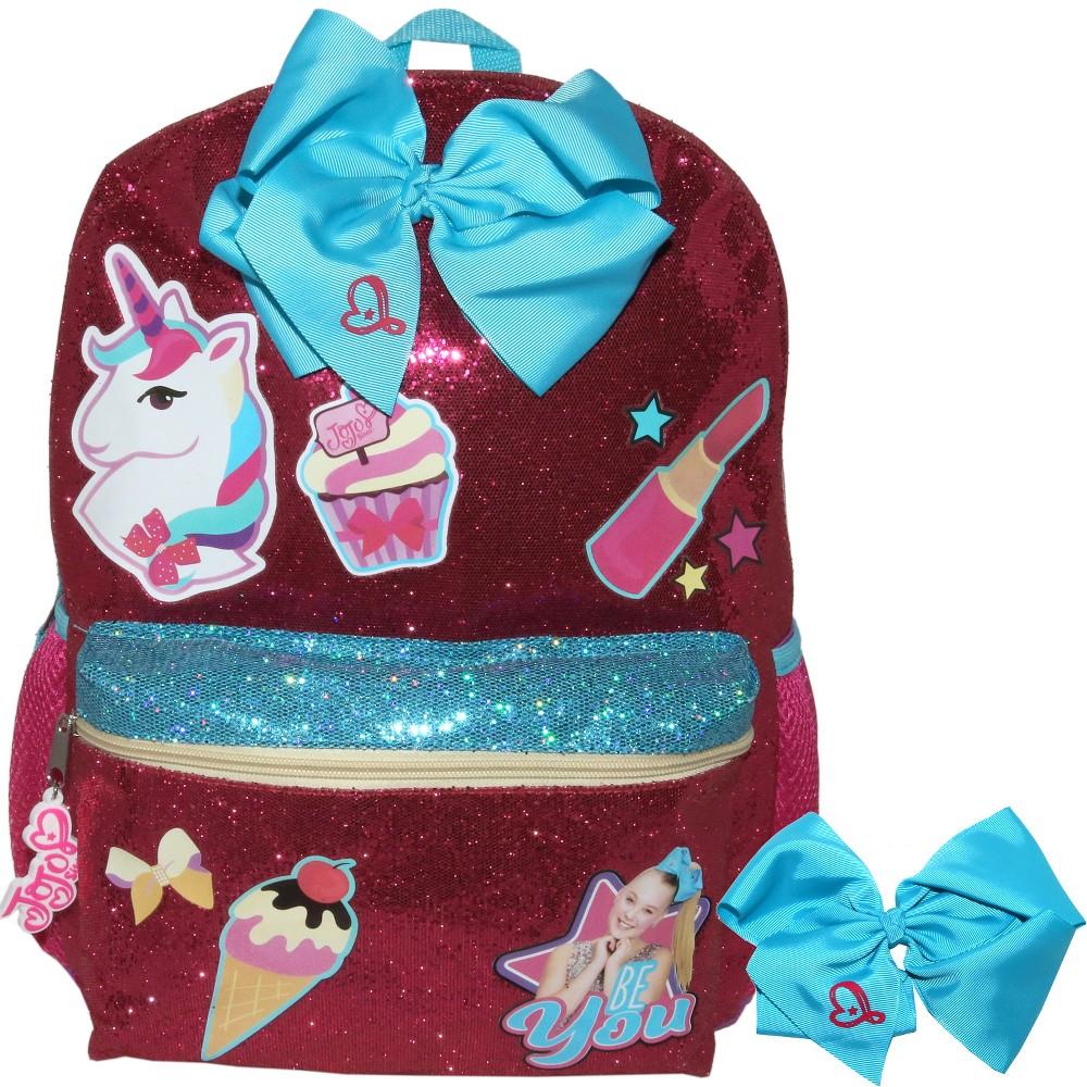 Nickelodeon 16 JoJo Siwa Kids' Backpack - Pink, Purple