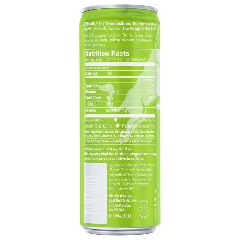 daf565cc5 Red Bull® Green Edition Energy Drink - 12 Fl Oz Can : Target