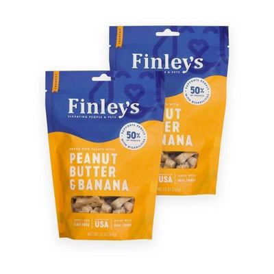 Finley's Peanut Butter and Banana Dog Treats