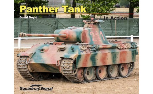 Panther Tank in Action -  by David Doyle (Paperback) - image 1 of 1