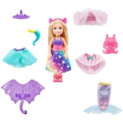 Barbie Dreamtopia Chelsea Doll Dress-up Set