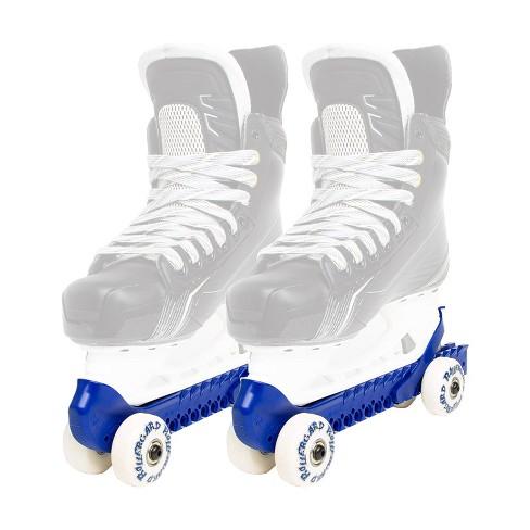 Rollergard 44374-BL Adjustable Strap Kids Ice Skate Blade Guard & Roller Skate, Blue (Pair) - image 1 of 3